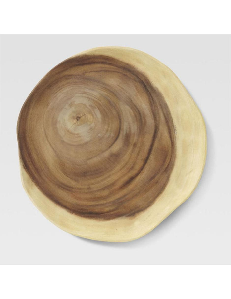 Plato Base Wood Slice